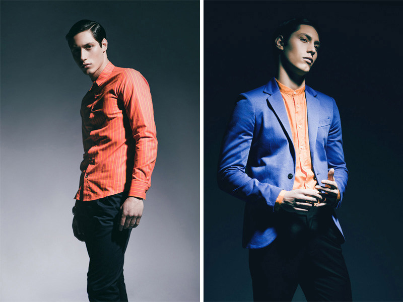 Harrison Weber & Alvin Stillwell in Chromatic by Alvin Nguyen for Fashionisto Exclusive