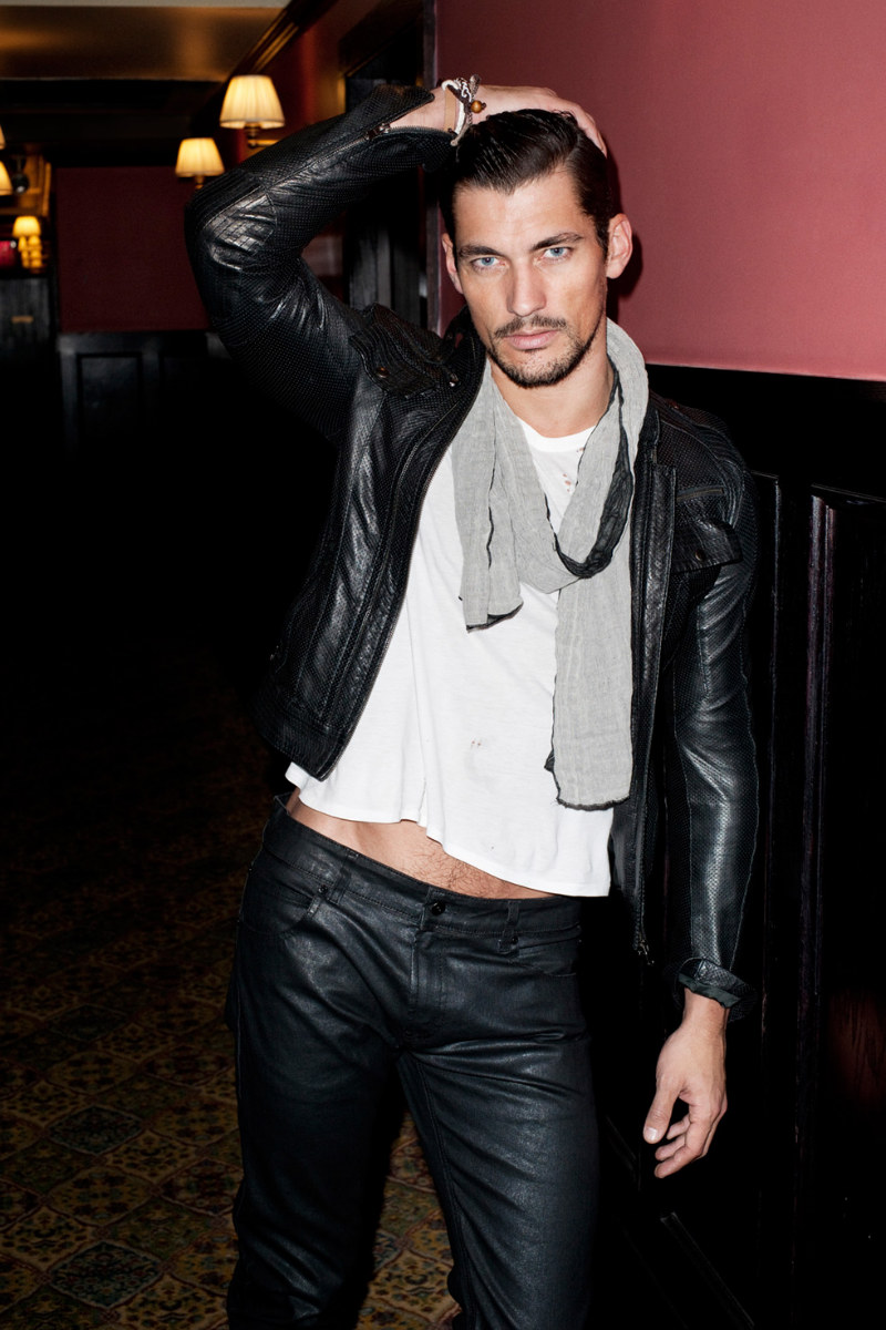 David Gandy by Terry Richardson for Sergio K Fall 2011 Campaign