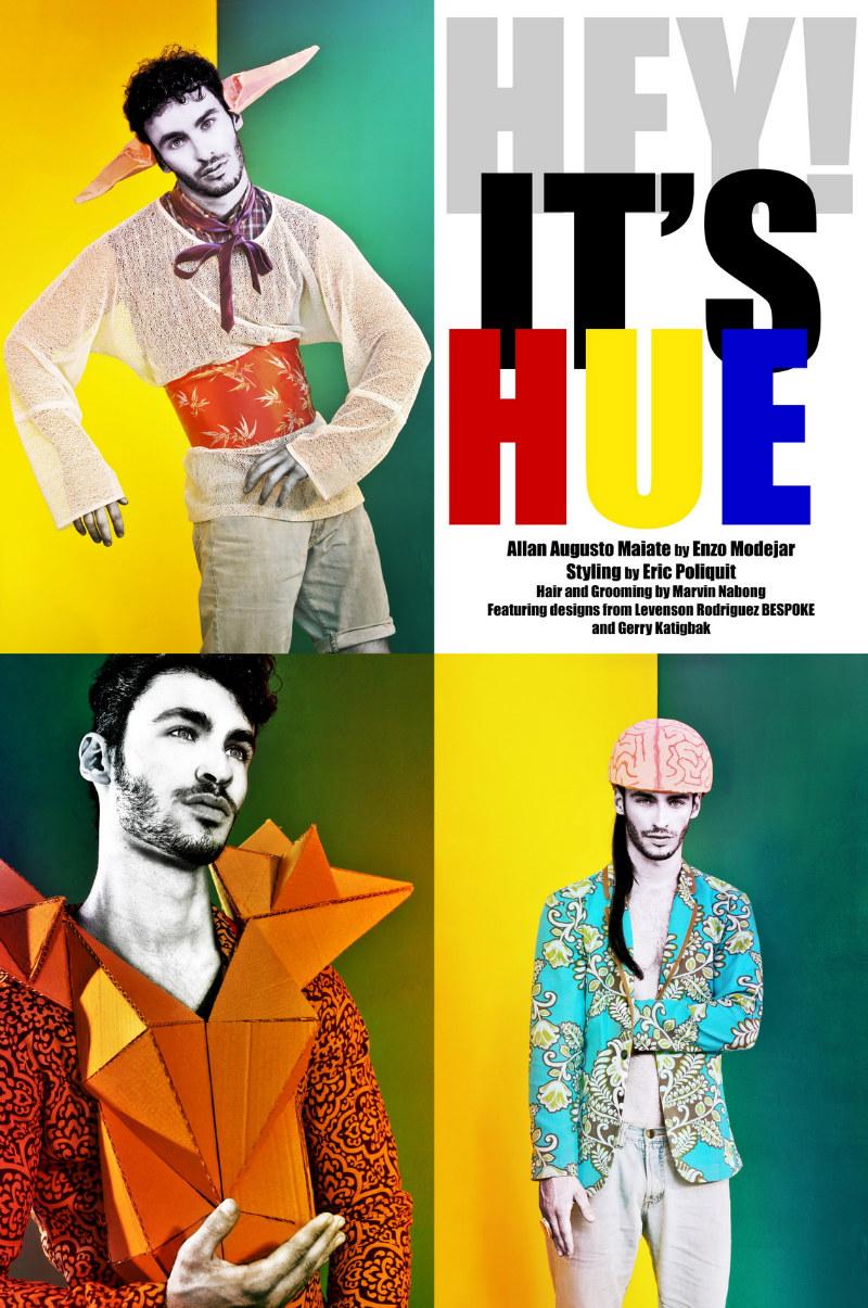 Allan Augusto Maiate by Enzo Mondejar in Hey It's Hue