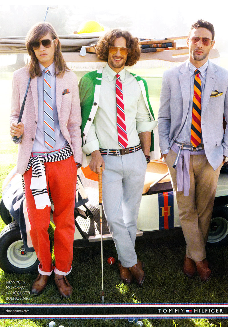 Marcel Castenmiller, Max Rogers & Noah Mills by Craig McDean for Tommy Hilfiger Spring/Summer 2011 Campaign