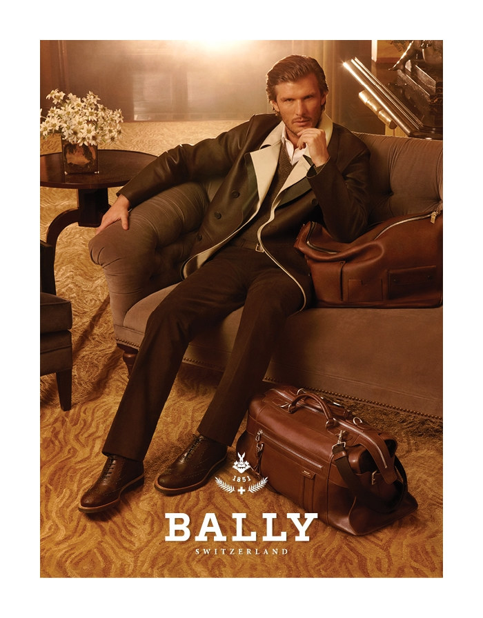 Nico Malleville by Steven Meisel for Bally Fall 2011 Campaign