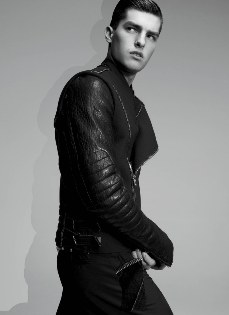Paolo Anchisi by Glen Luchford for Costume National Homme Fall 2011 Campaign