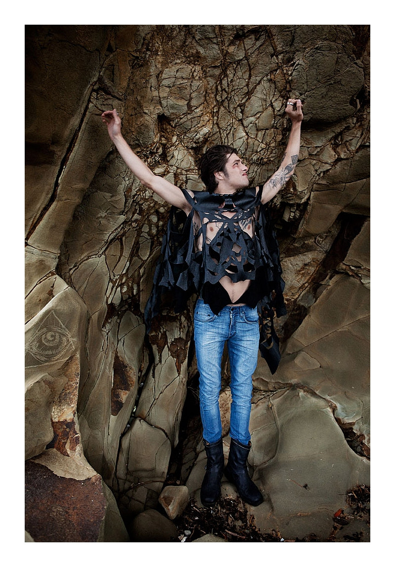 Vinnie Woolston by David K Shields for Black Magazine