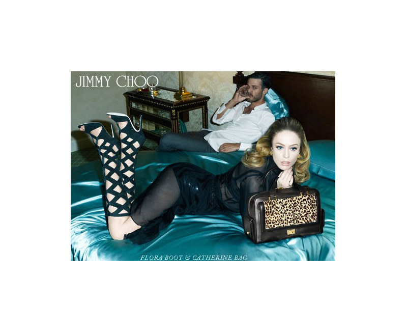 Ben Hill by Steven Meisel for Jimmy Choo Fall 2011 Campaign