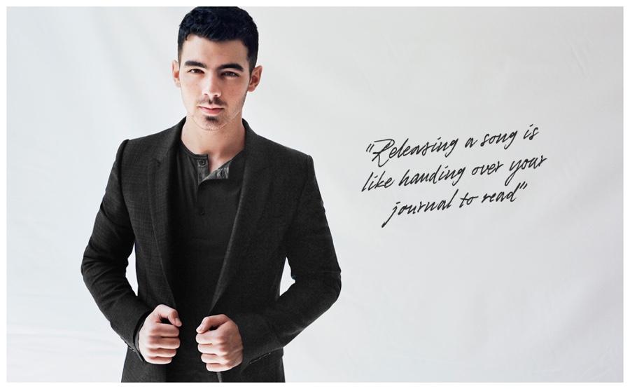 Joe Jonas Stars in Chic Mr Porter Photo Shoot