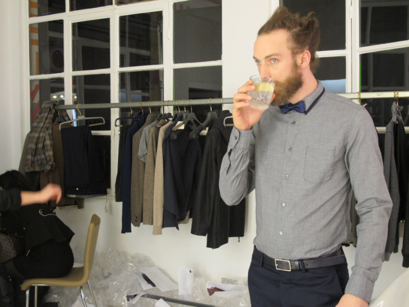 Behind the Scenes | Will Lewis for Mauro Grifoni Fall 2011