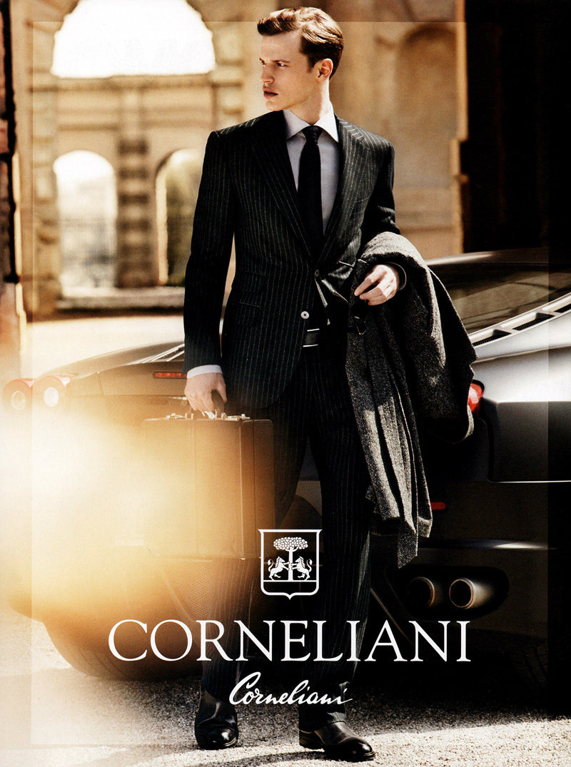 Lars Burmeister for Corneliani Fall 2011 Campaign