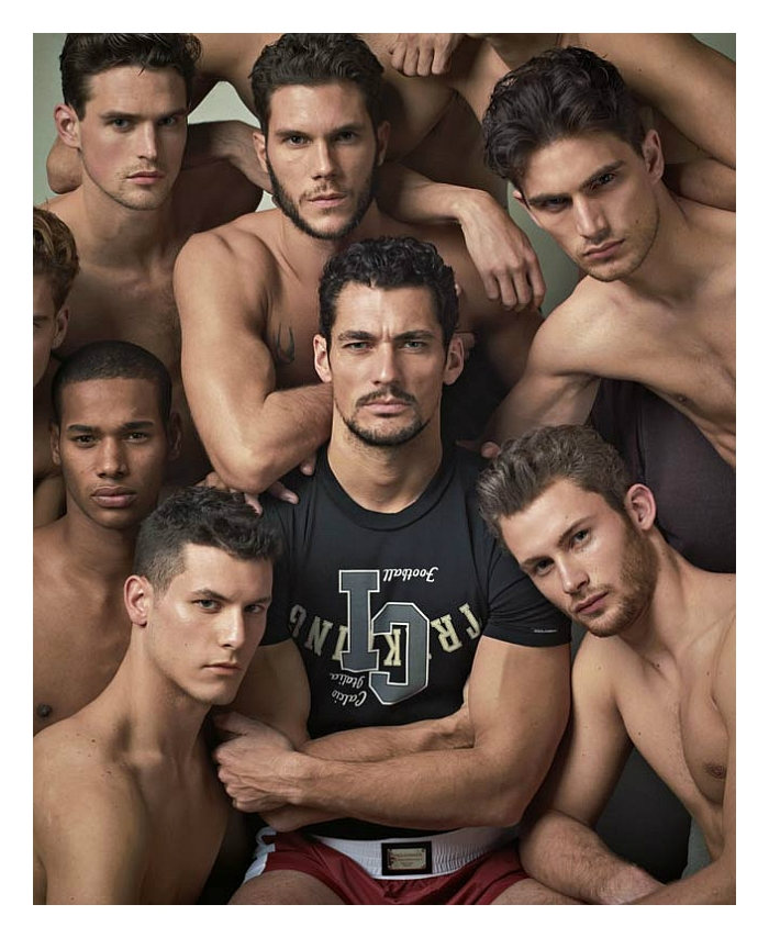 David Gandy & Crew by Mariano Vivanco for Dolce & Gabbana Gym Fall 2011
