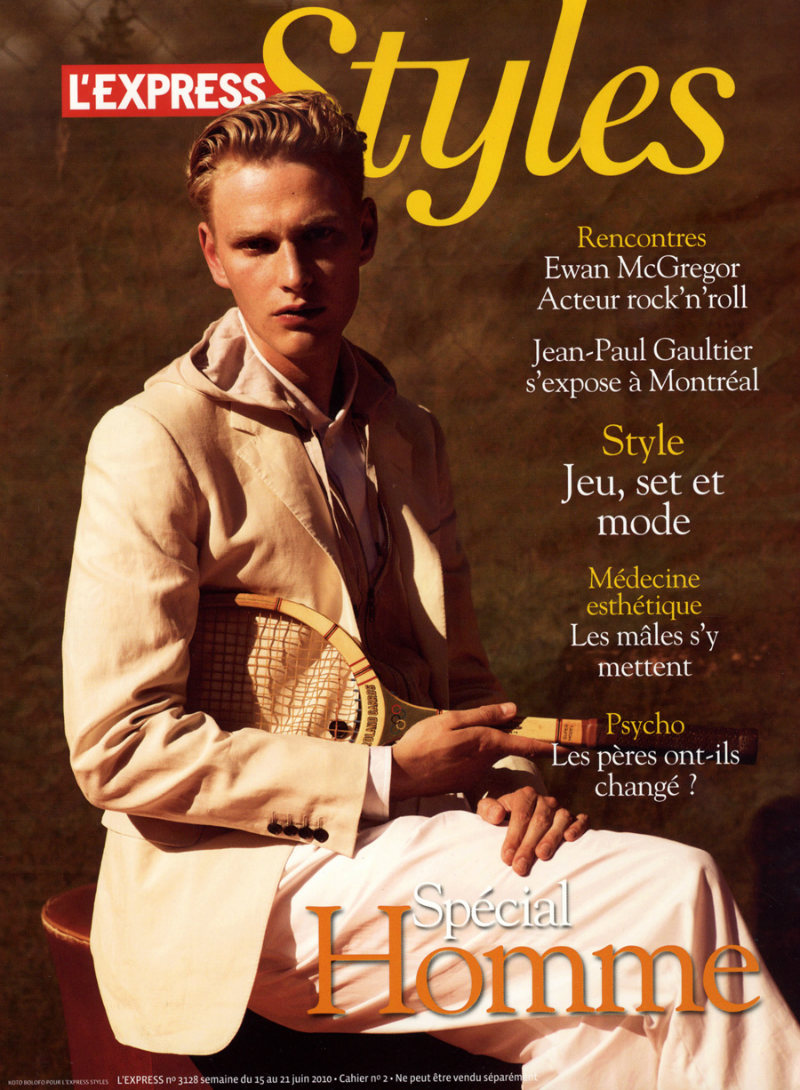 Gerhard Freidl by Koto Bolofo for L'Express Styles