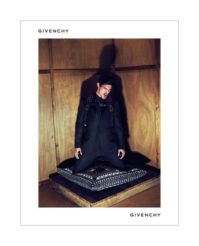 Jonathan Marquez & Rob Evans by Mert & Marcus for Givenchy Fall 2011 Campaign