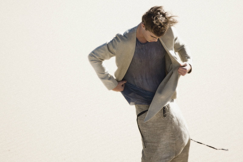 Jordan Coulter by Bowen Arico for Song for the Mute Spring 2012