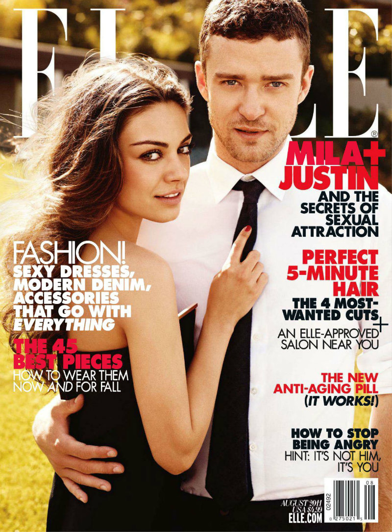 Justin Timberlake by Carter Smith for Elle Magazine August 2011