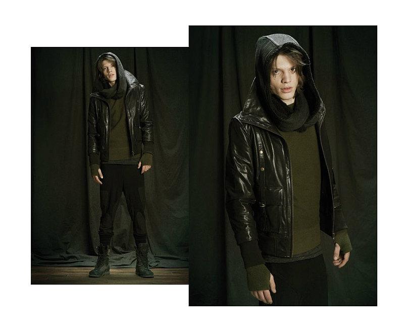 Jonatan Frenk by Francis Hills for Nicholas K Fall 2011