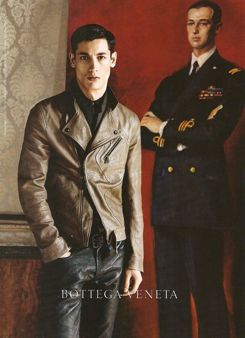 Nicolas Ripoll by Robert Pollidori for Bottega Veneta Fall 2011 Campaign (Preview)