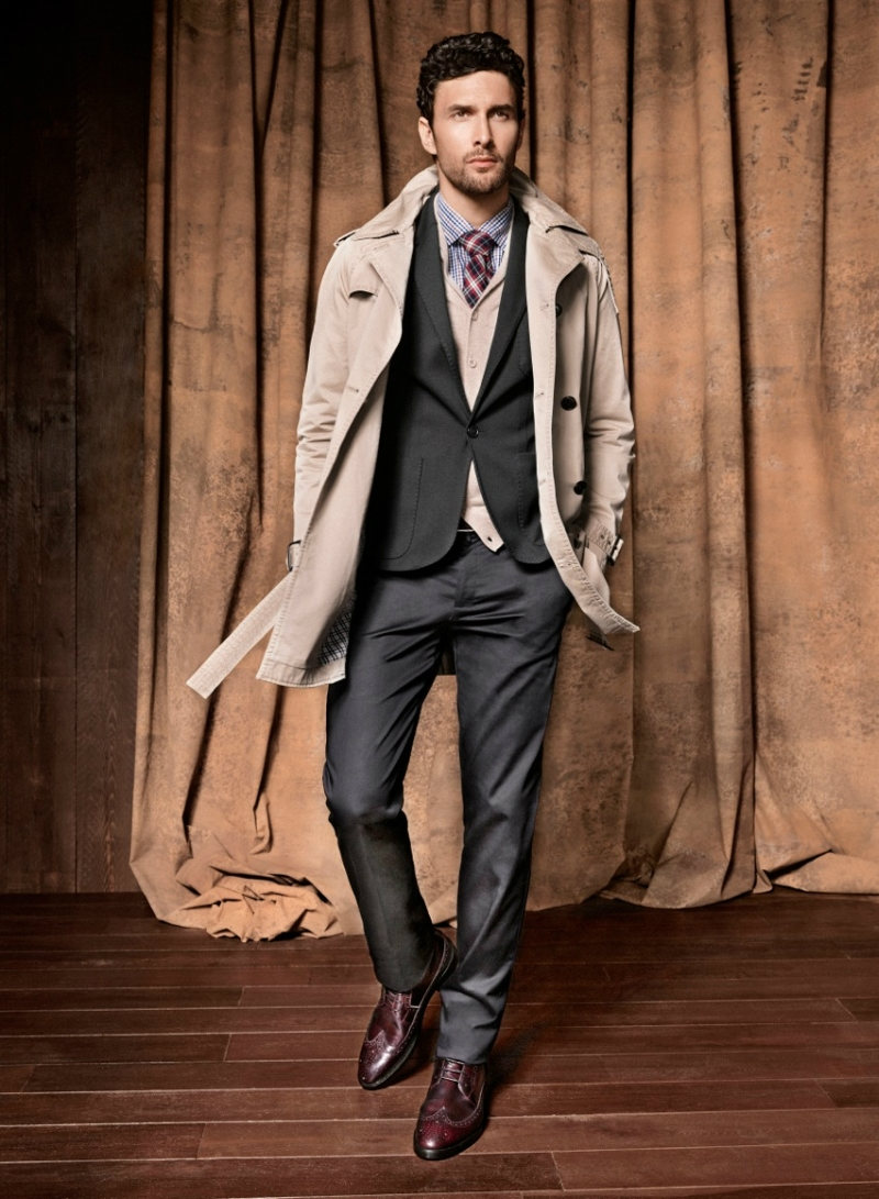 Noah Mills & Brad Kroenig by Hunter & Gatti for H.E. by Mango Fall 2011 Campaign