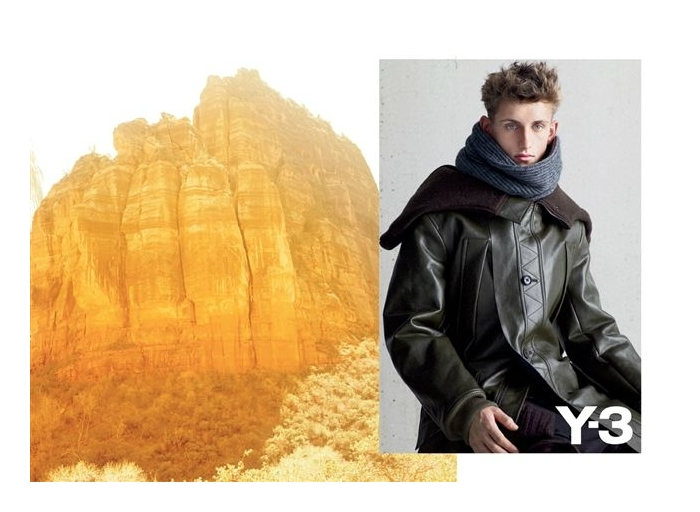 Robin Ahrens by Collier Schorr for Y-3 Fall 2011 Campaign