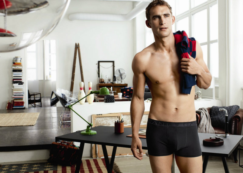 Will Chalker for Gant Fall 2011 Underwear Campaign