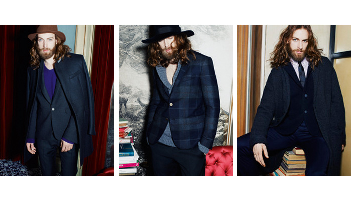 Will Lewis for Mauro Grifoni Fall 2011 Campaign