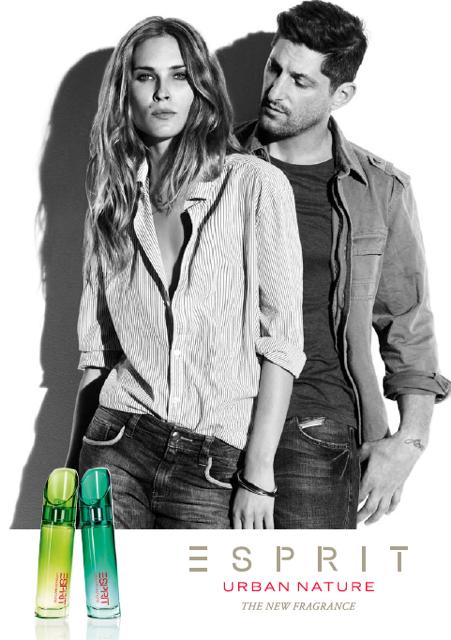 Tony Ward for Esprit Urban Nature Fragrance Campaign