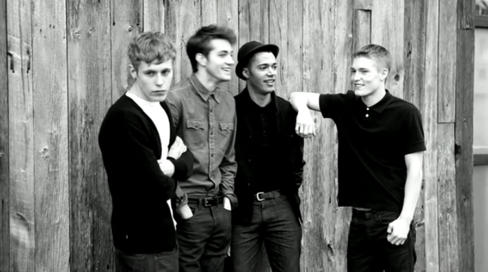 Harry Goodwins, Daniel Jaems Ojuederie, Will Higginson & Sam Thompson for Levi's Monochrome Fall 2011