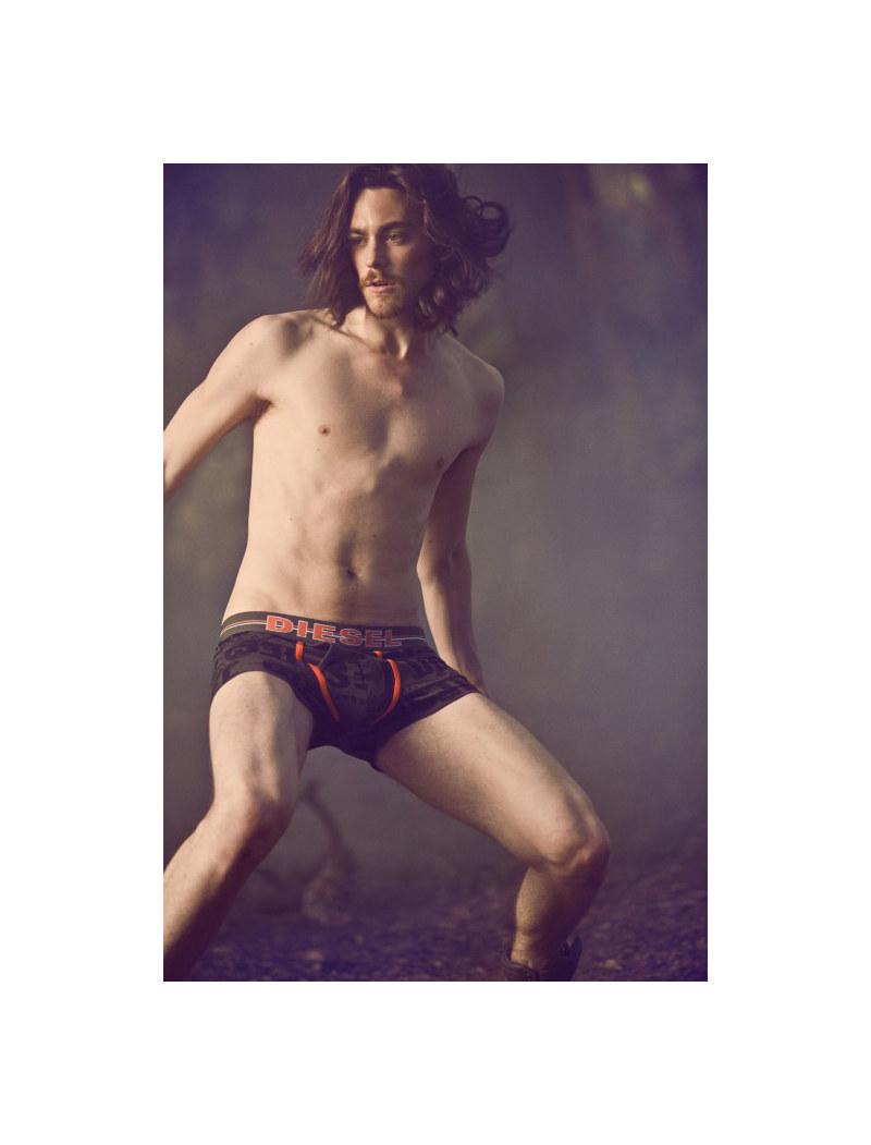 Andrew Smith, Josh Beech, Jonas Kesseler & Matteo Martari by Nacho Ricci for Diesel Fall 2011 Underwear Campaign