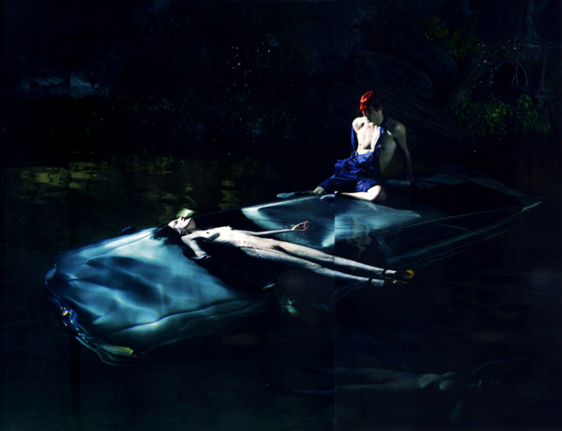 Angus Whitehead, Jed Texas & Paul Boche by Mert & Marcus for Love