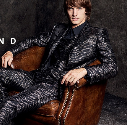 Andrew Smith by Craig McDean for John Richmond Fall 2011 Campaign