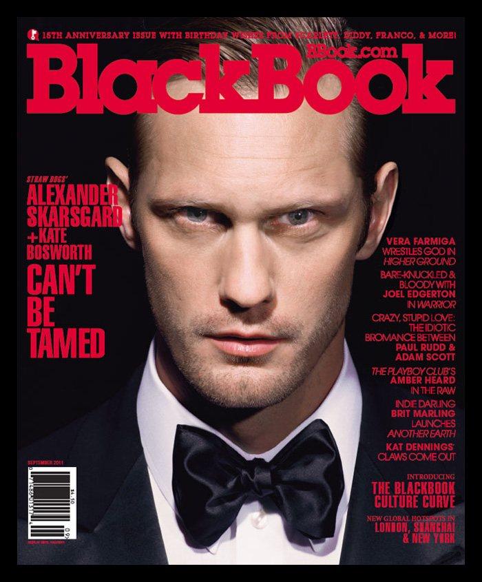 Alexander Skarsgård by Andrew Macpherson for BlackBook