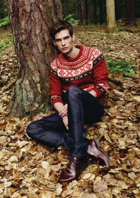 Borys Starosz for André Fall 2011 Campaign