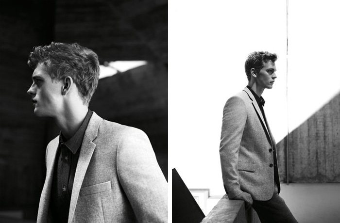 Benjamin Eidem by Willy Vanderperre for COS Fall 2011 Campaign