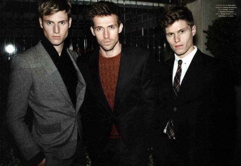 Andrew Cooper, Matt Benstead & Oliver Cheshire by Roger Deckker for Details