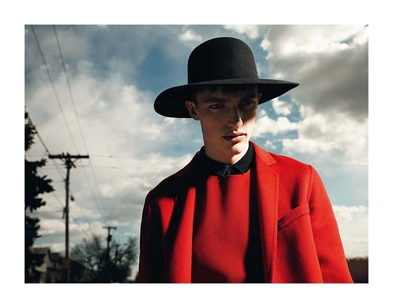 Victor Nylander by Willy Vanderperre for Dior Homme Fall/Winter 2011