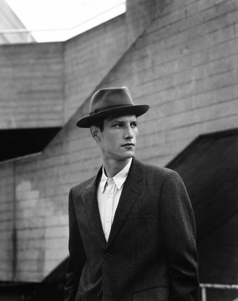 Roch Barbot by Alasdair McLellan for Margaret Howell Fall 2011 Campaign