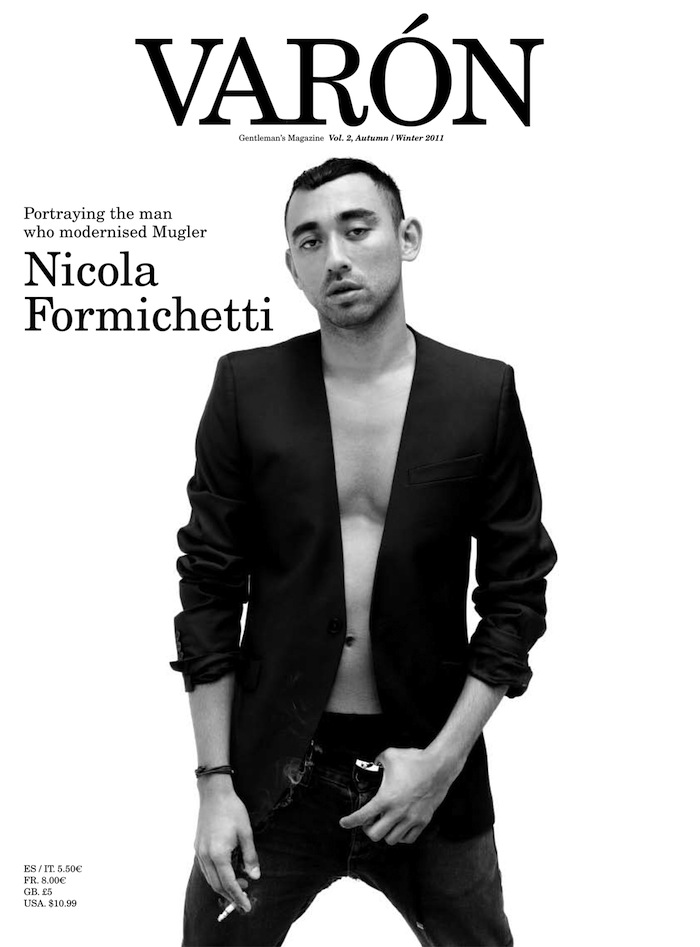 Cover | Nicola Formichetti by Kacper Kasprzyk for Varón