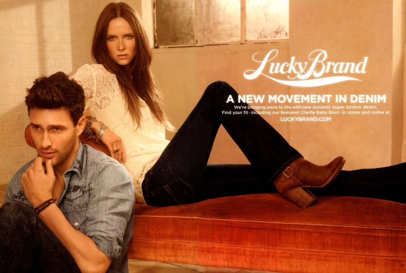 Noah Mills by Carter Smith for Lucky Brand Fall 2011 Campaign