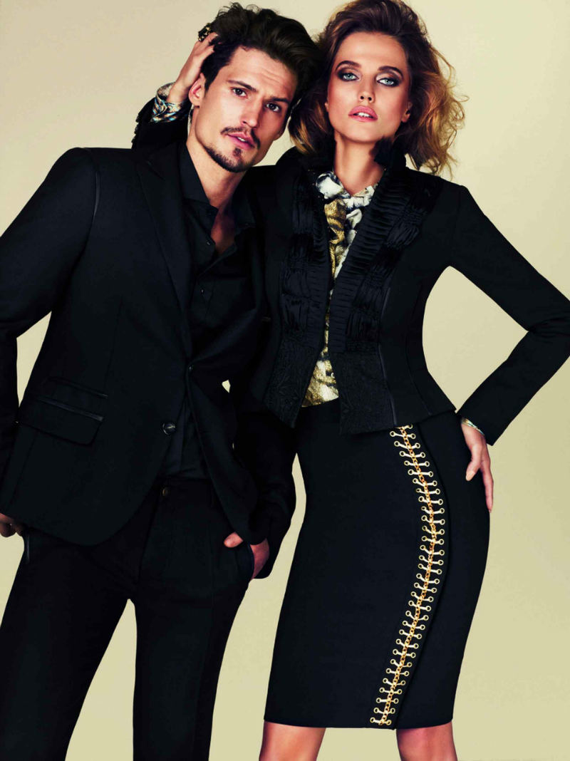 Sam Webb for Cavalli Fall 2011 Just Class Campaign