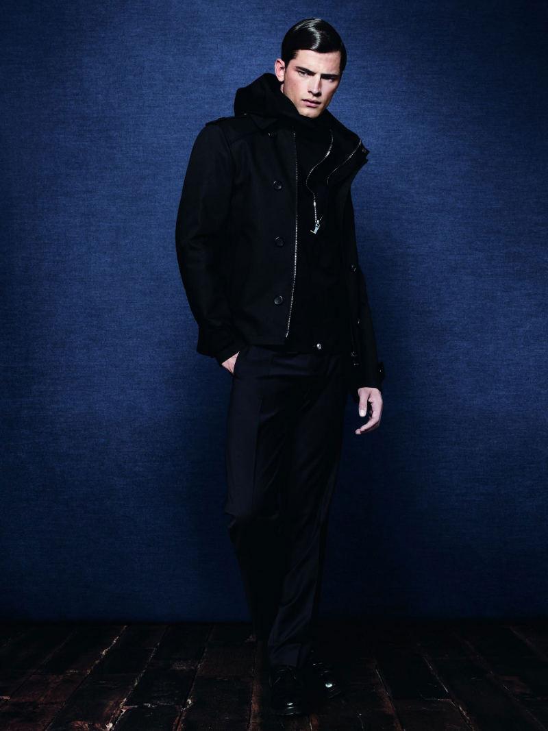 Sean O'Pry for Zara Man Fall 2011 Campaign
