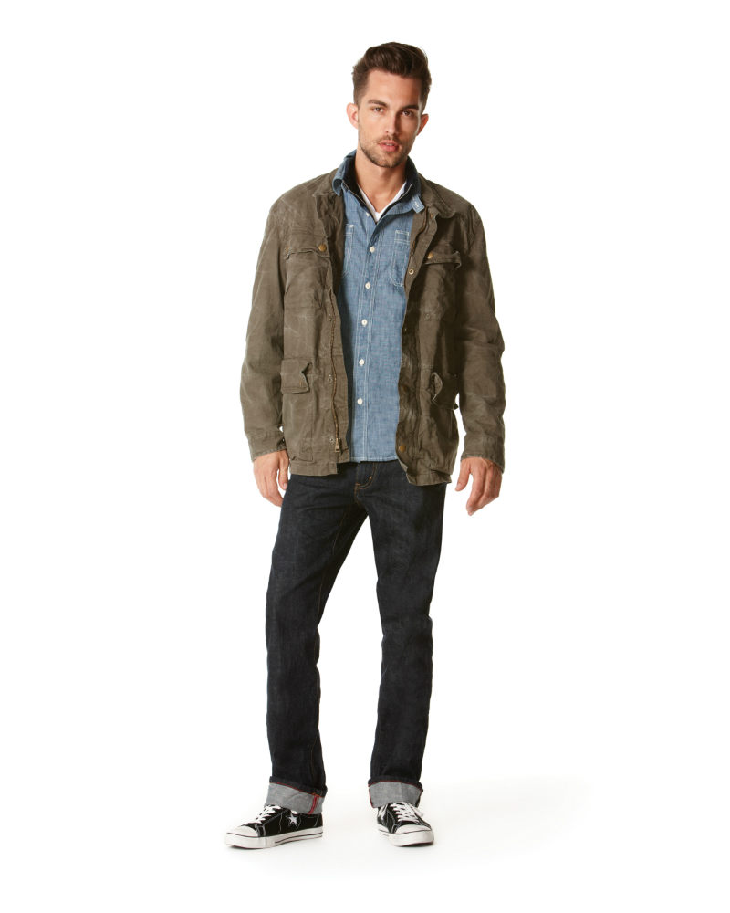 converse one star jacket men's