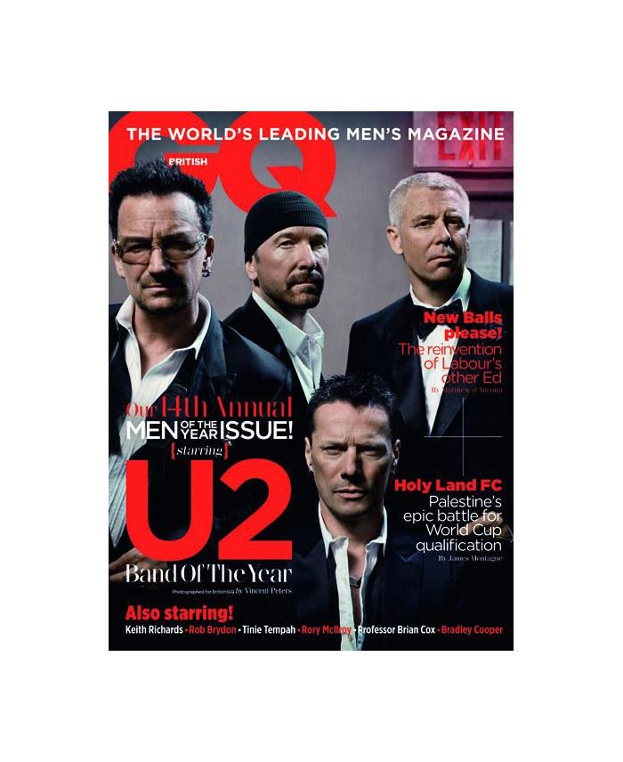 Keith Richards & U2 for GQ UK