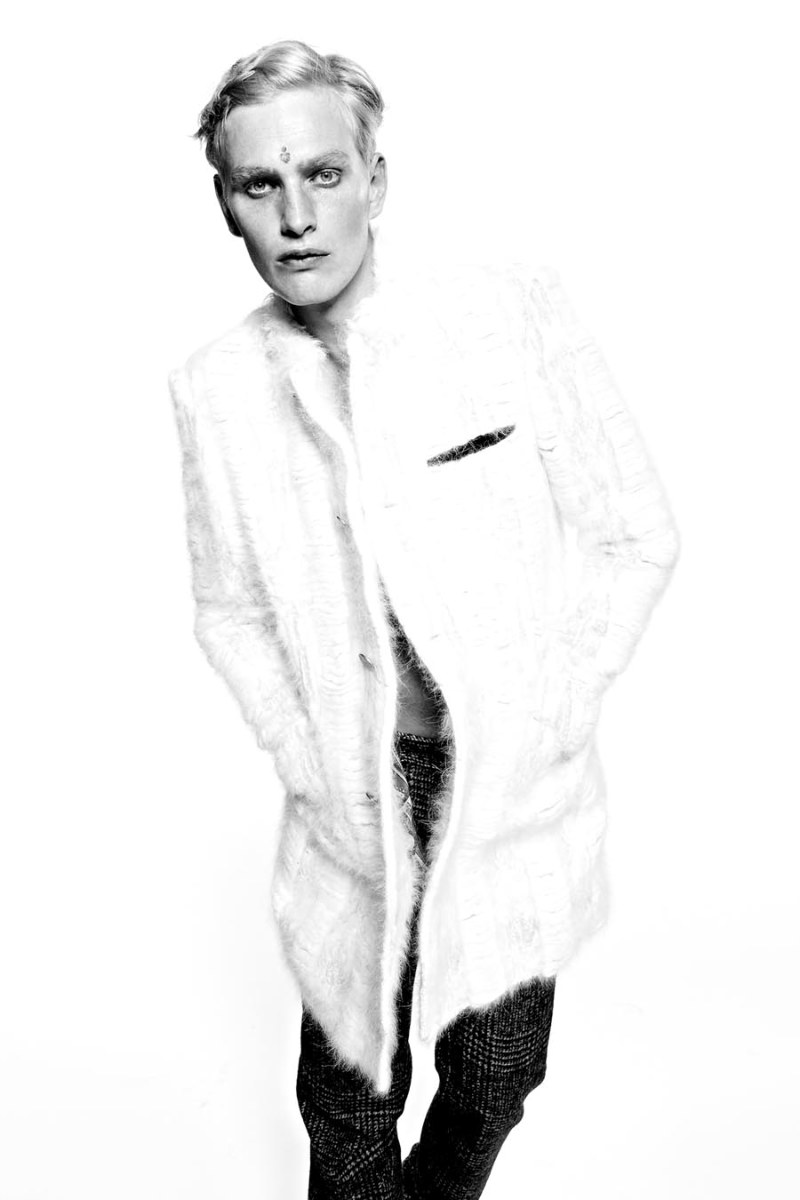 Gerhard Freidl by Simone Rivi for Maxim
