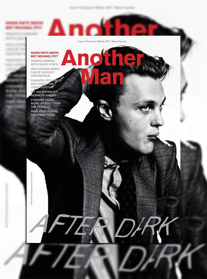 Michael Pitt by Hedi Slimane for AnOther Man