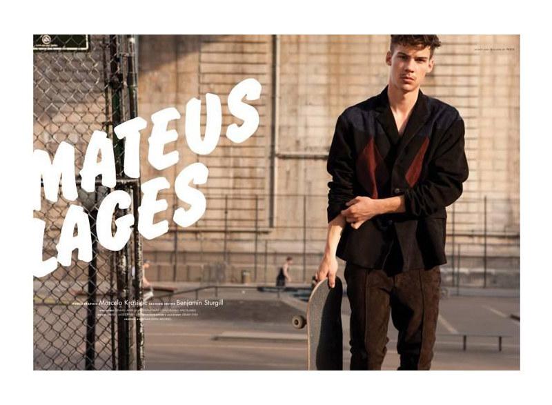 Snap! | Mateus Lages by Marcelo Krasilcic for 10 Men
