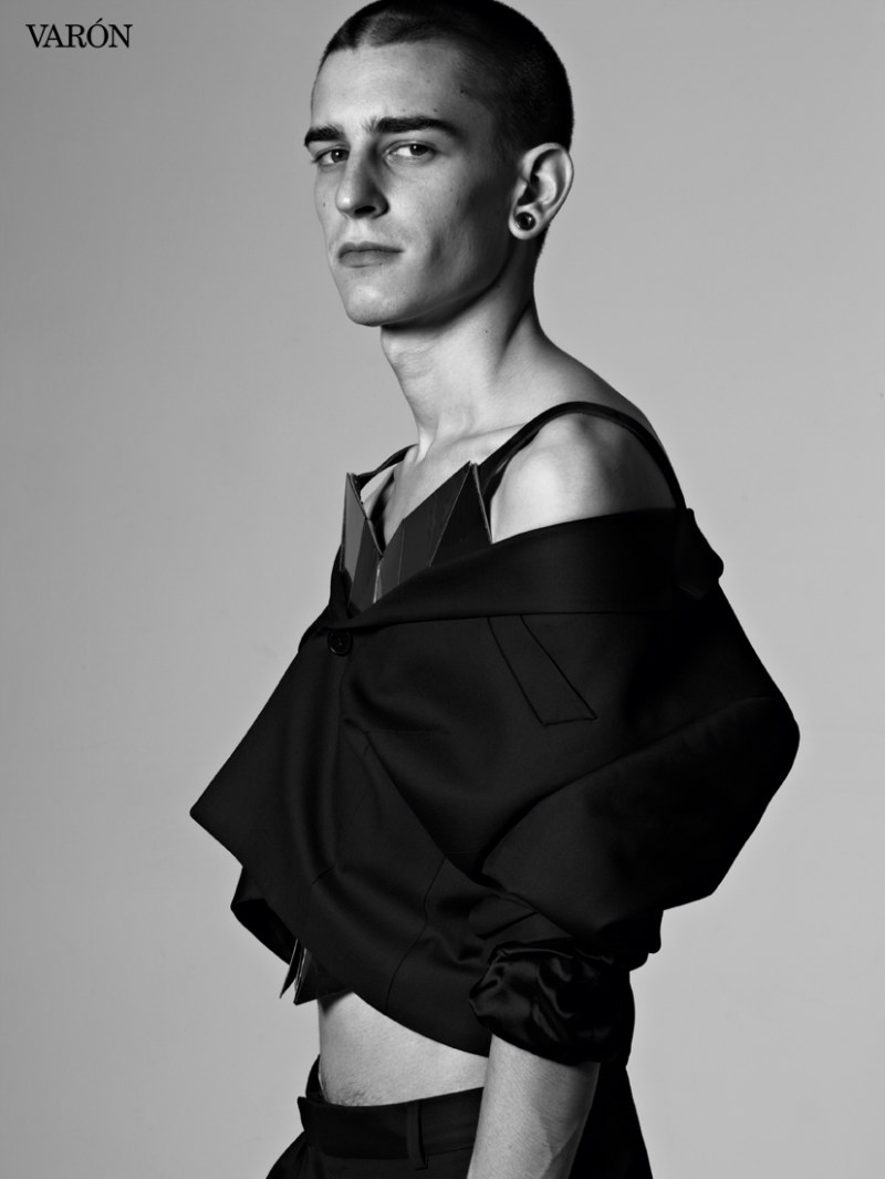 Nicola Formichetti & Mugler Creative Team by Kacper Kasprzyk for Varón (Preview)
