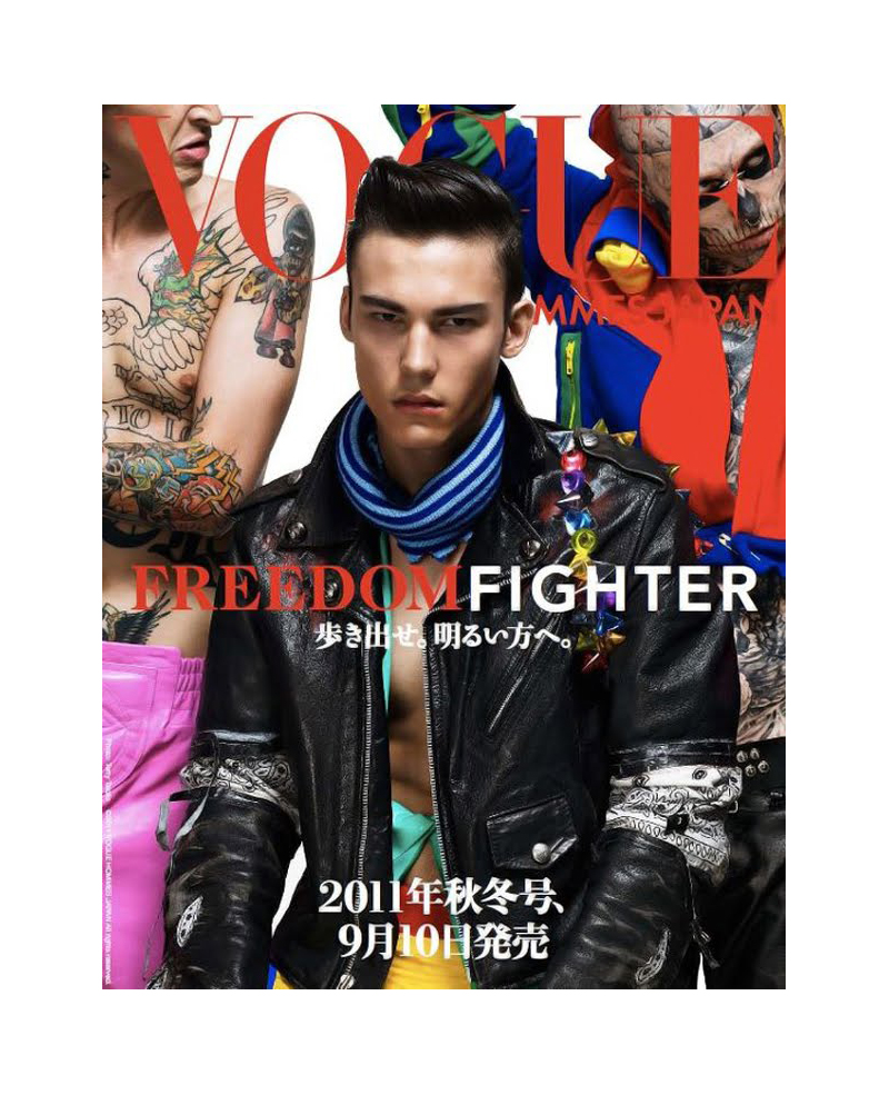Vogue Hommes Japan Fall 2011 Covers