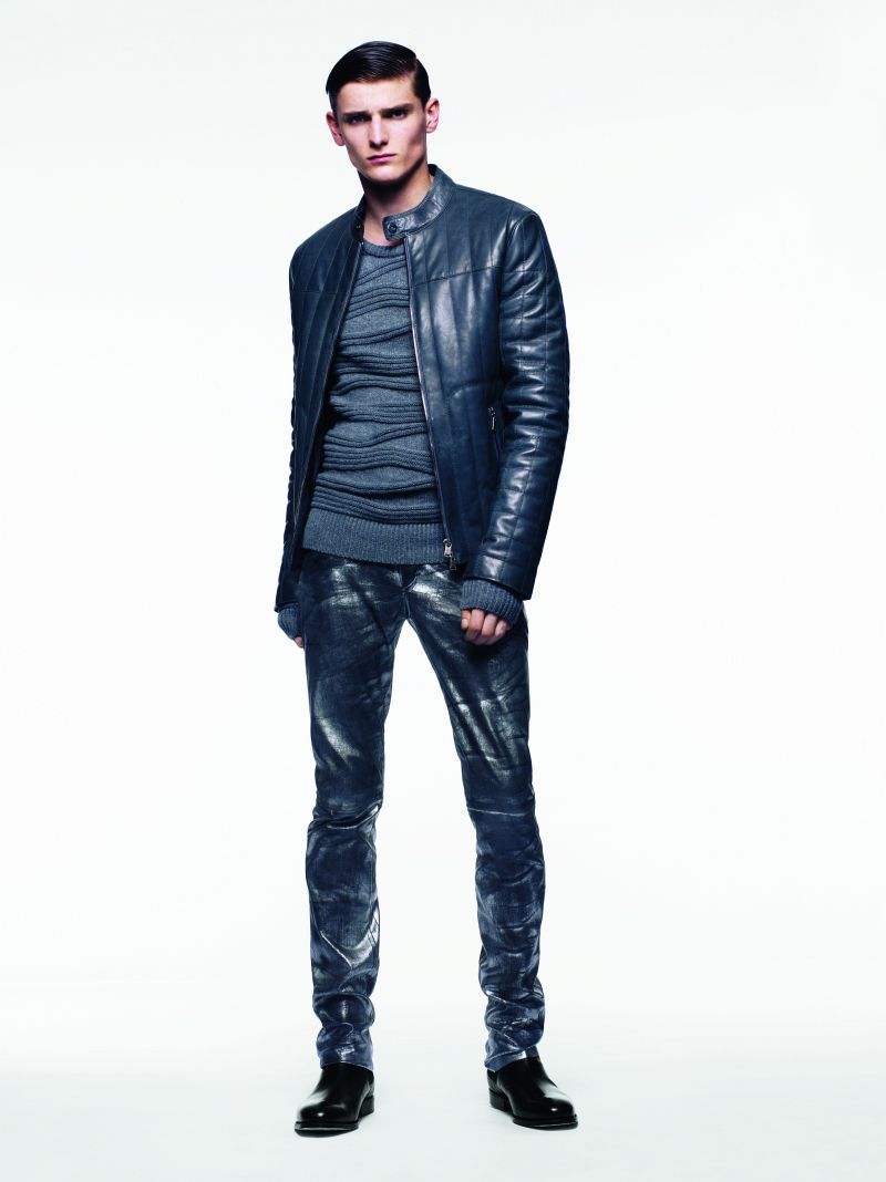 Alexander Beck fronts Jitrois' fall 2011 lookbook.