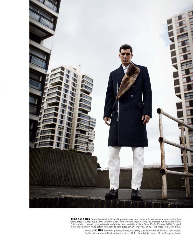 Andrea Preti by Will Davidson for Bergdorf Goodman