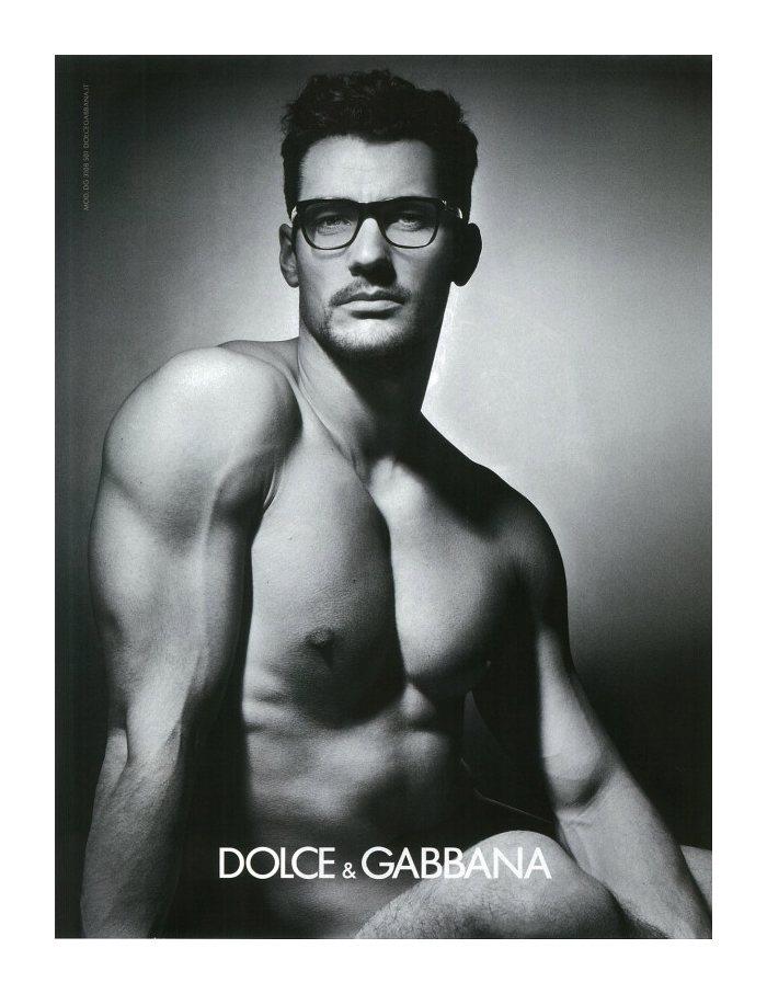 David Gandy by Mariano Vivanco for Dolce & Gabbana Fall 2011 Eyewear Campaign