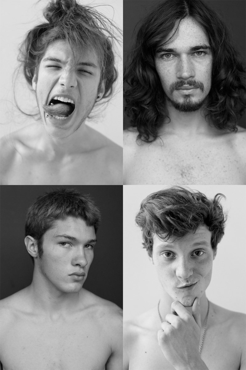 Casting Call: New York Fashion Week Spring 2012 Edition   Colt Maldonado, Glenn Galleghan, Matthew Hitt & Reinaldo Berthoti by Nikolai de Vera