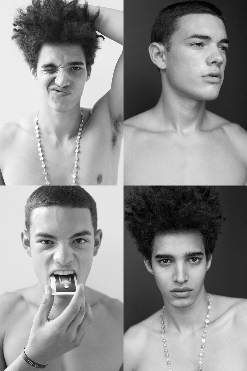 Casting Call: New York Fashion Week Spring 2012 Edition | Cesar Chiang & Luis Borges by Nikolai de Vera