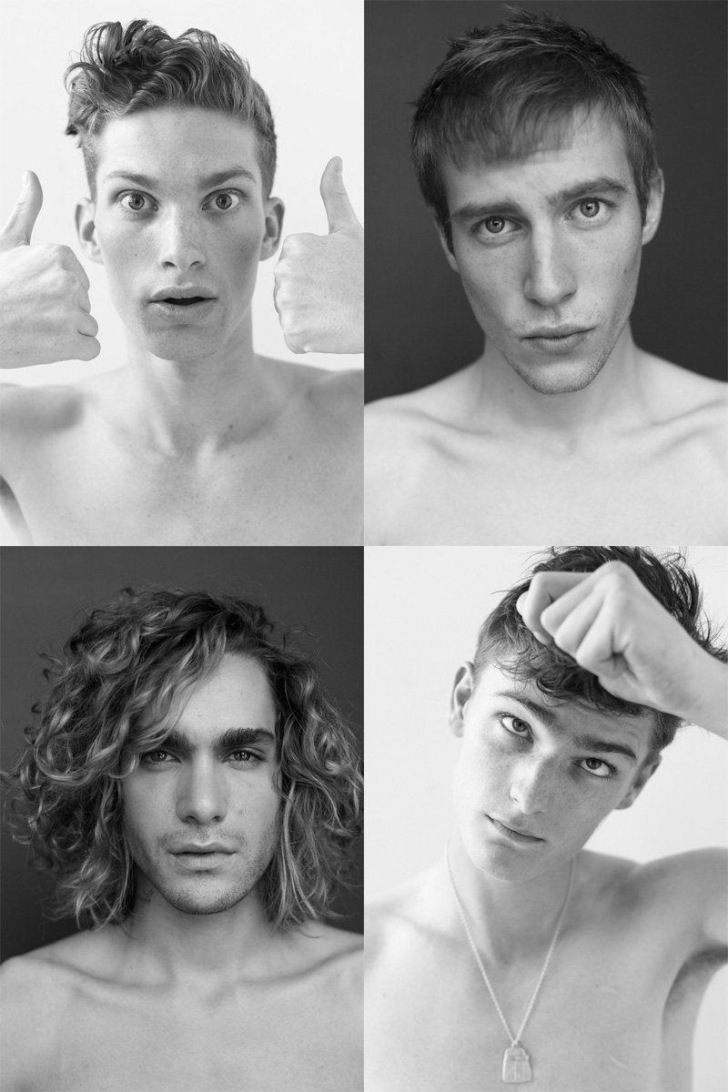 Casting Call: New York Fashion Week Spring 2012 Edition | Alexander Beck, Bastien Bonizec, Connor Stanley & Jake Gordon by Nikolai de Vera